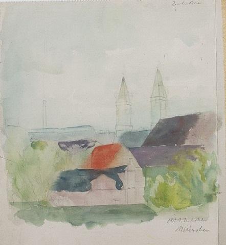 münchen (detail) by alexander zschokke