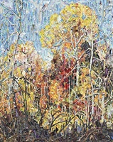 autumn: orillia, after frank carmichael (pictures of magazine 2) by vik muniz