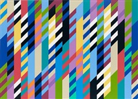 through by bridget riley
