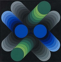 zur-3 by victor vasarely