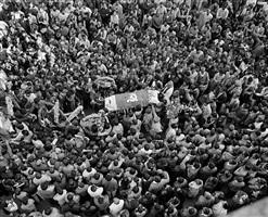 safdar hashmi's funeral procession by ram rahman