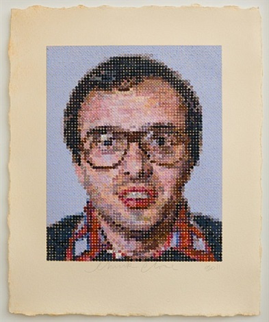 mark by chuck close