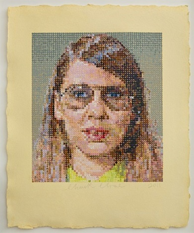 susan by chuck close