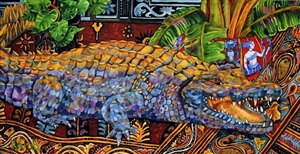 rajasthan crocodile by kendahl jan jubb
