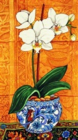 orchids and minaret 1 by kendahl jan jubb