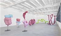 exhibition view by franz west