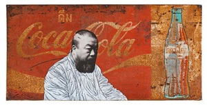 ai wei wei on coke by pakpoom silaphan