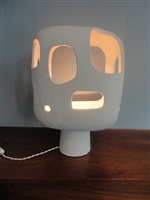 ceramic lamp by andre-aleth	 masson