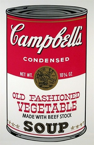 campbell's soup ii by andy warhol