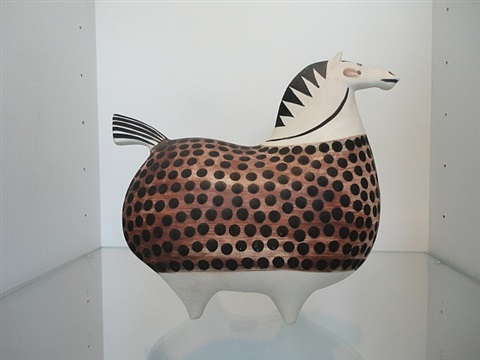 ceramic horse by stig lindberg
