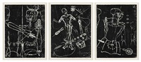body electric triptych by matthew monahan