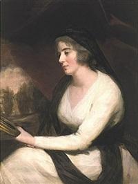 portrait of mrs. johnstone by sir henry raeburn