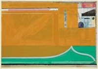 ochre by richard diebenkorn