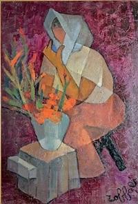 la marchande de fleurs by louis toffoli