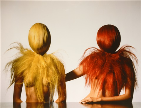 two hairy young women new york may by irving penn