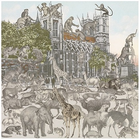 westminster abbey – animalia by peter blake