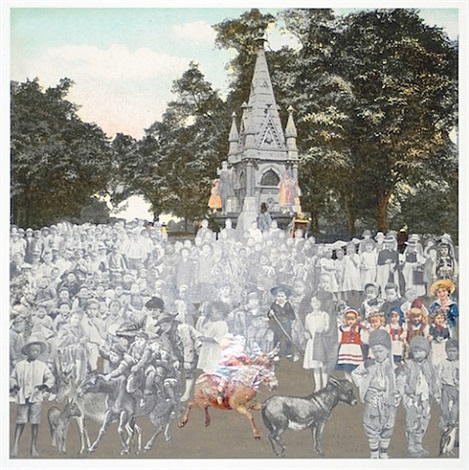 regents park – the runaway donkeys by peter blake
