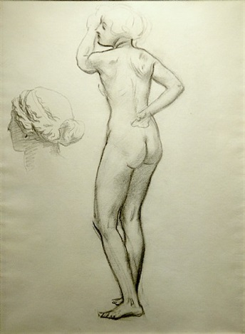 study for apollo and the muses by john singer sargent