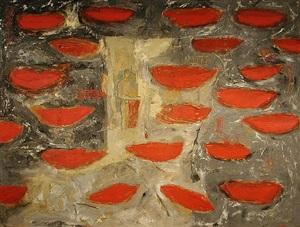 botes rojos by raul diaz