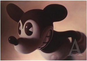 pink mouse by gottfried helnwein