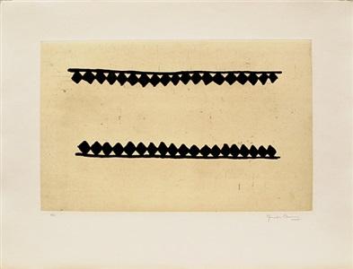 intériur: a portfolio of 5 etchings by joan hernández pijuan