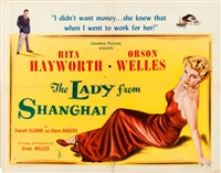 the lady from shanghai by columbia pictures