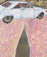 boom, boom, boom, boom (the sublime) by peter doig