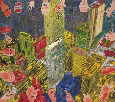 we do it right. it's good lickin finger. by peter doig