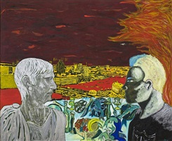 contemplating culture by peter doig