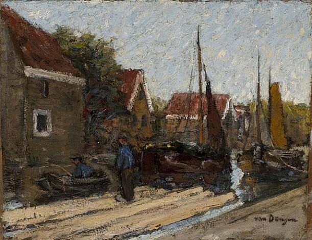 la schie, hollande by kees van dongen