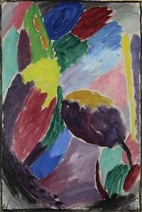 grosse variation: nach dem frühlingsregen, nr. 3 by alexej jawlensky
