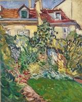 maison au fond du jardin by louis valtat