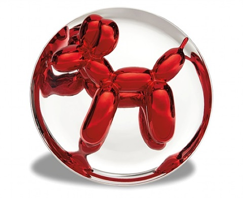 balloon dog red by jeff koons