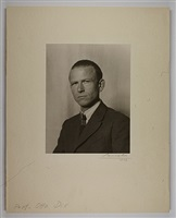 professor otto dix by august sander