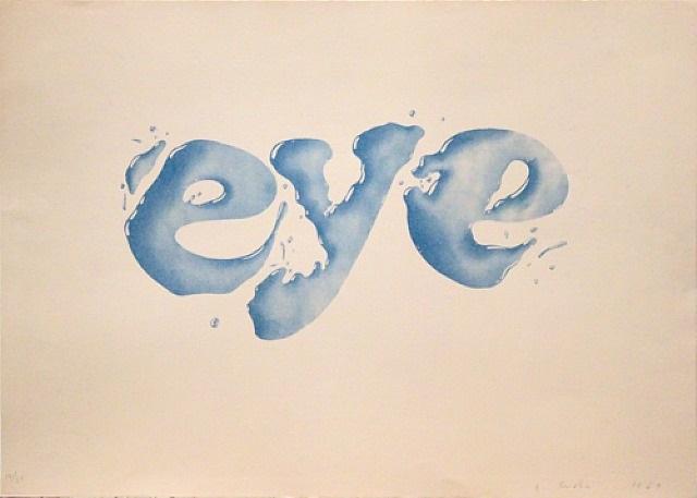 eye by ed ruscha