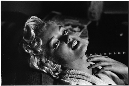 marilyn monroe, new york, 1956 by elliott erwitt