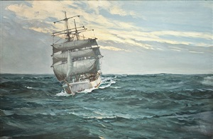 homeward bound by montague dawson
