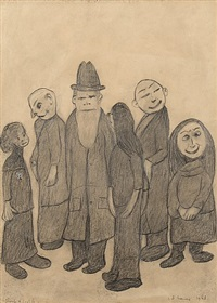 group of people by laurence stephen lowry