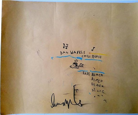 dan wall´s chili house by jean-michel basquiat
