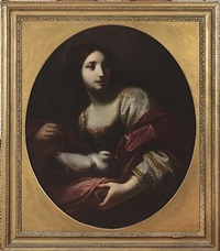 allegory of purity (santa reparata) by simone pignone
