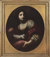 allegory of purity (santa reparata) by simone pignone
