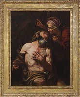 job cursed by his wife by giovanni battista langetti