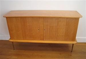 meuble d'appui en citronnier / lemontree sideboard by jacques dumond