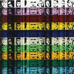 portrait of the artists from ten from leo castelli (f&s 17) by andy warhol