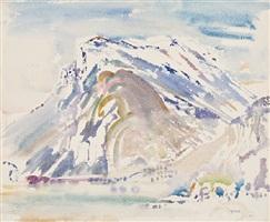 mountain, the tyrol by john marin