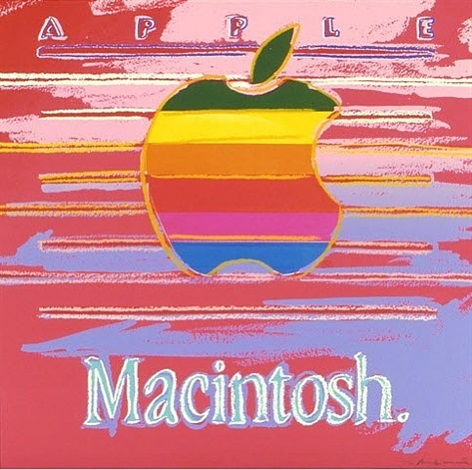 macintosh apple by andy warhol
