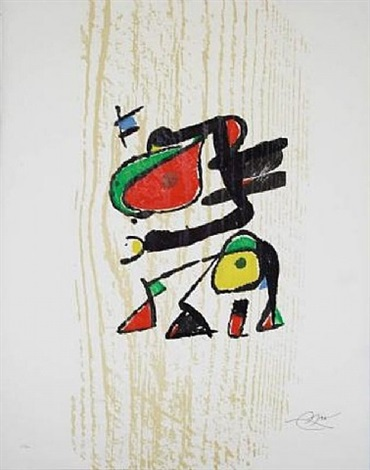 graveur. 2 full sets available by joan miró