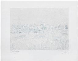 vétheuil dans le brouillard (vétheuil in the fog) by claude monet