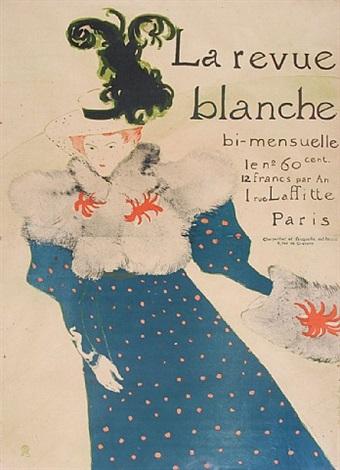 la revue blanche by henri de toulouse-lautrec