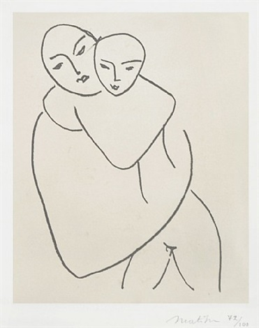 vierge et enfant (madonna and child) by henri matisse